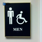 Building Sign: Restrooms #1164