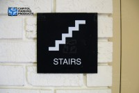 Building Sign: Stairs #1165